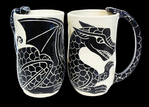 Dragon (tail handle)
