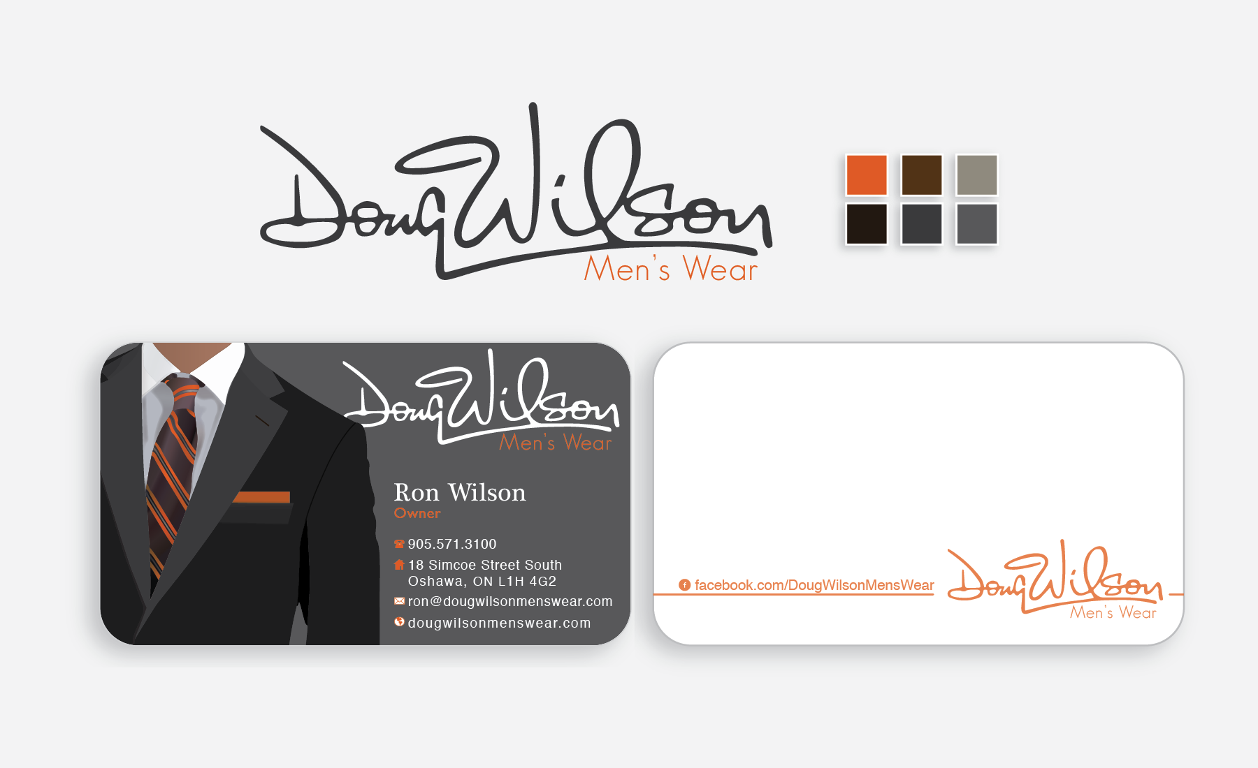 Doug Wilson Branding