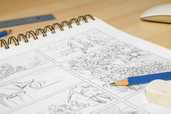 Pre-Production Storyboard