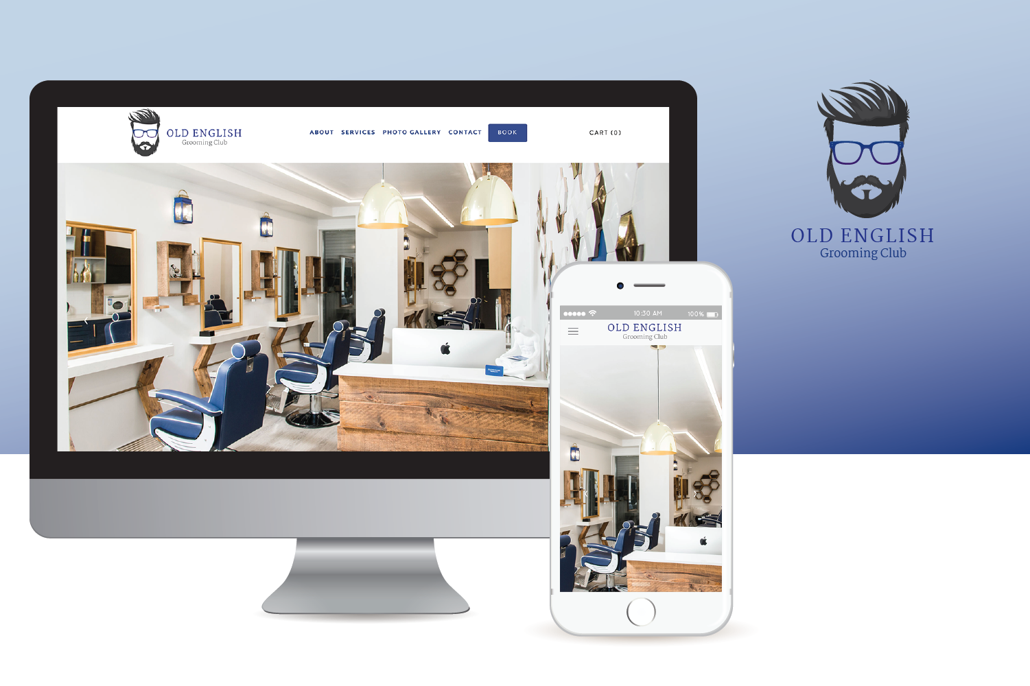 Old English Grooming Club Website