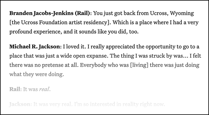 In Dialogue with Branden Jacobs-Jenkins - BrooklynRail.org
