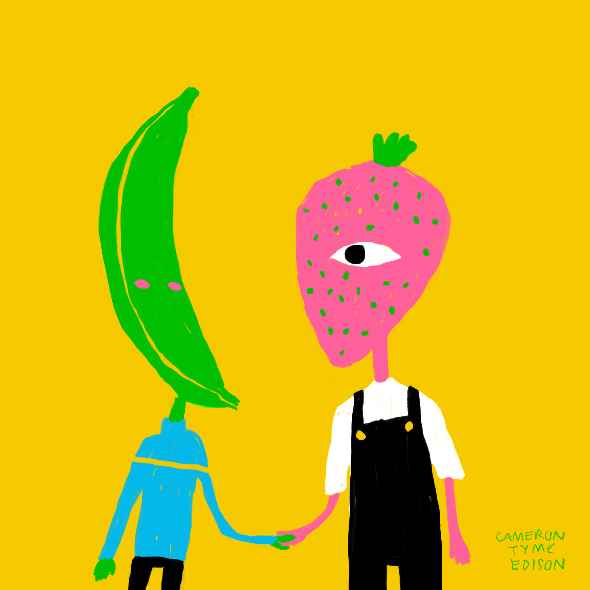 Couple of Fruits, Digital 2019