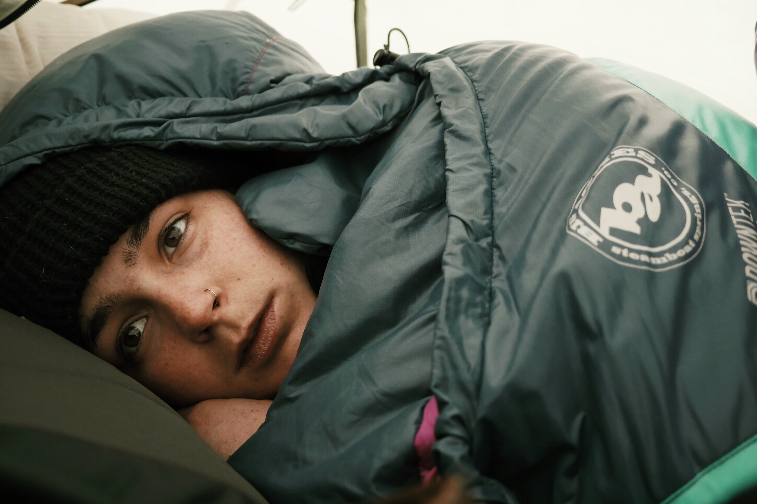 Tori Winter Camping in 2018