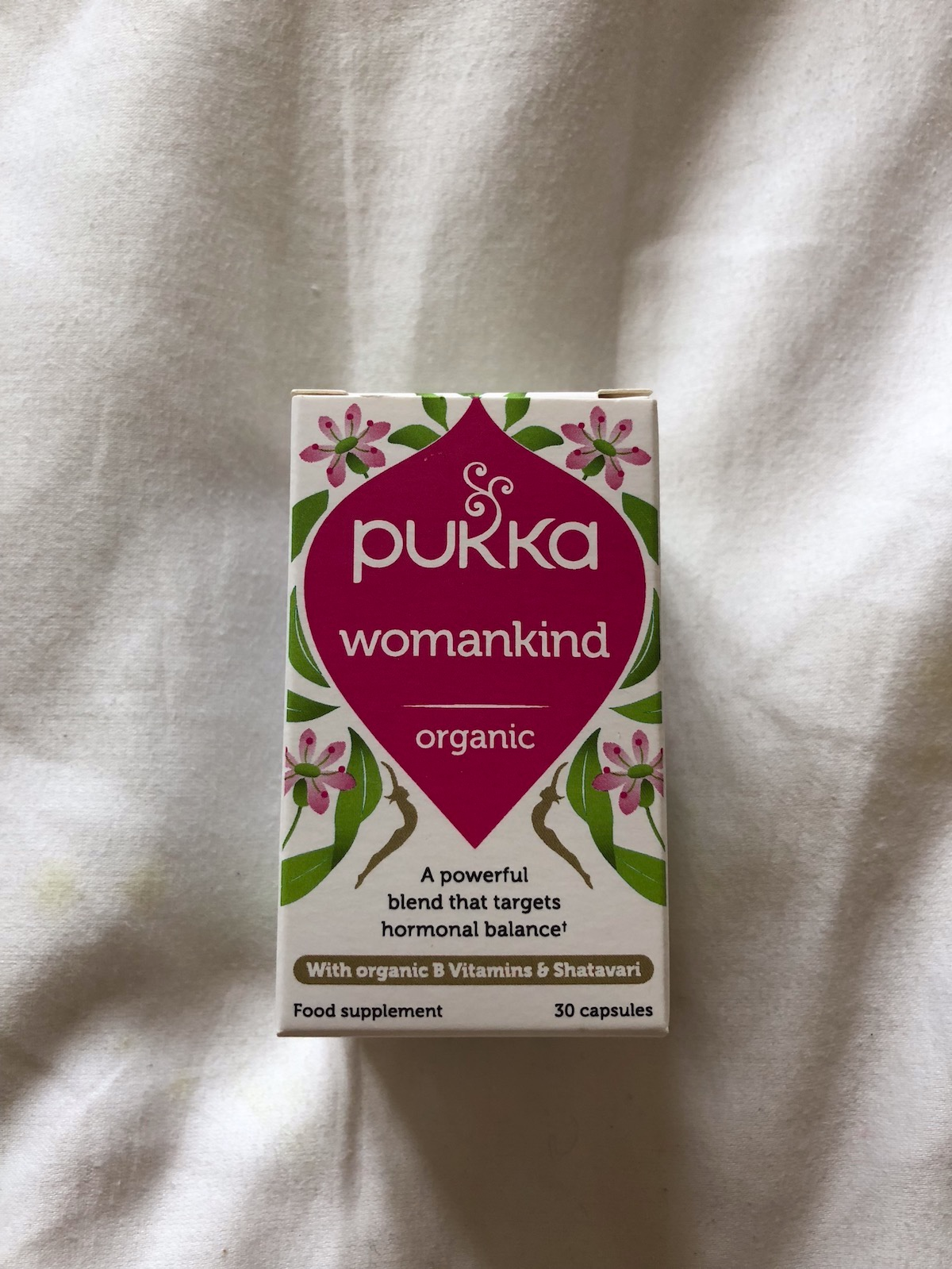 - This product is my hormone balancing hero, its well blended and it works! I take every day and love Pukka over all as a brand. I recommend to all my lady loves out there.