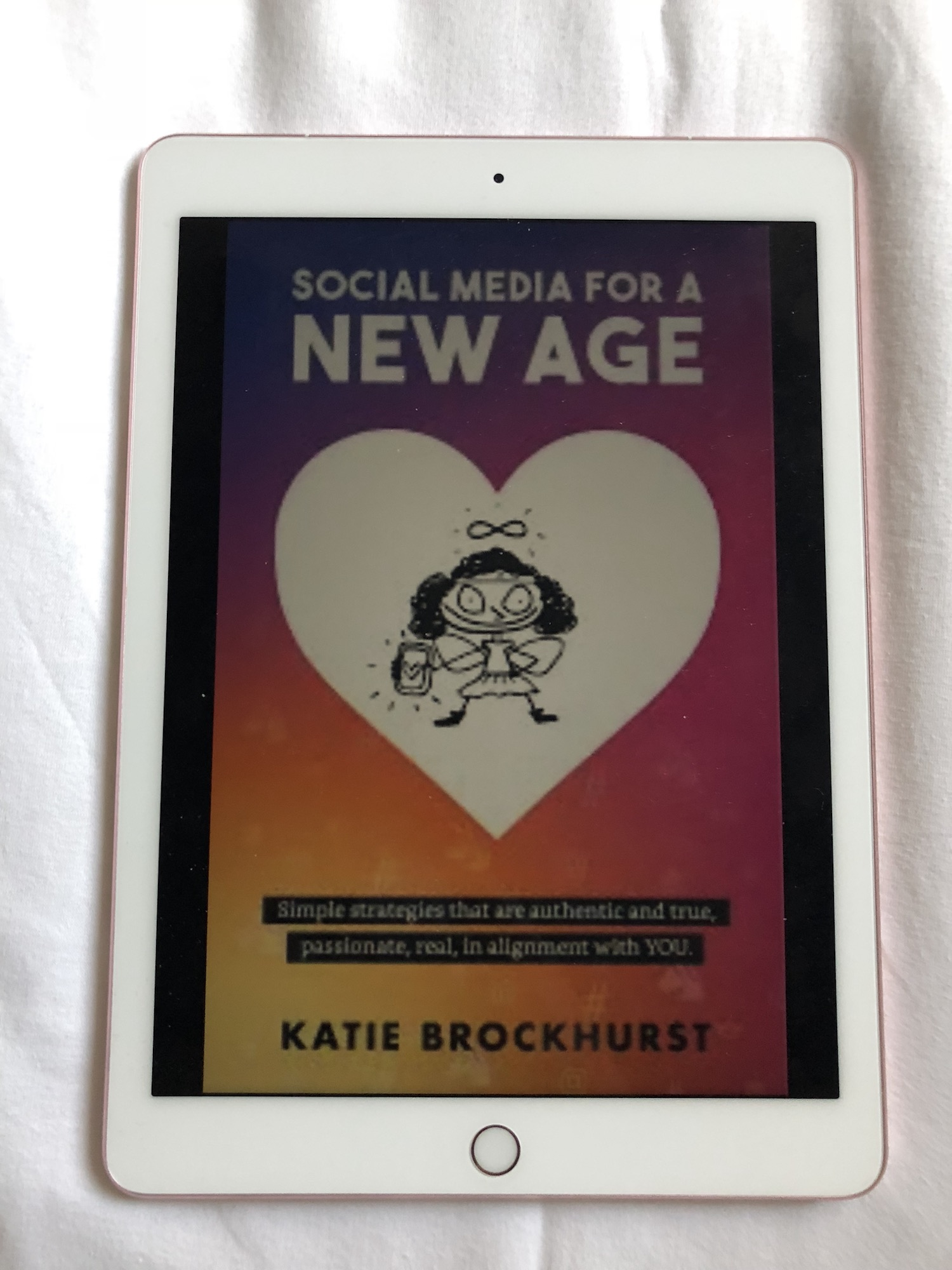 - I cannot recommend this book enough, a new way of looking at using social media and to get the best out of it for you, and to realign your thinking. Not only is Katie lovely but her knowledge and experience is invaluable. A must read for anyone using social media for their work or passion, it's so easy for people to end up feeling negative with social media this book will help.