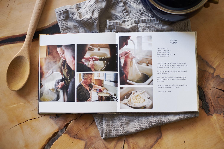 Portland custom family cookbook