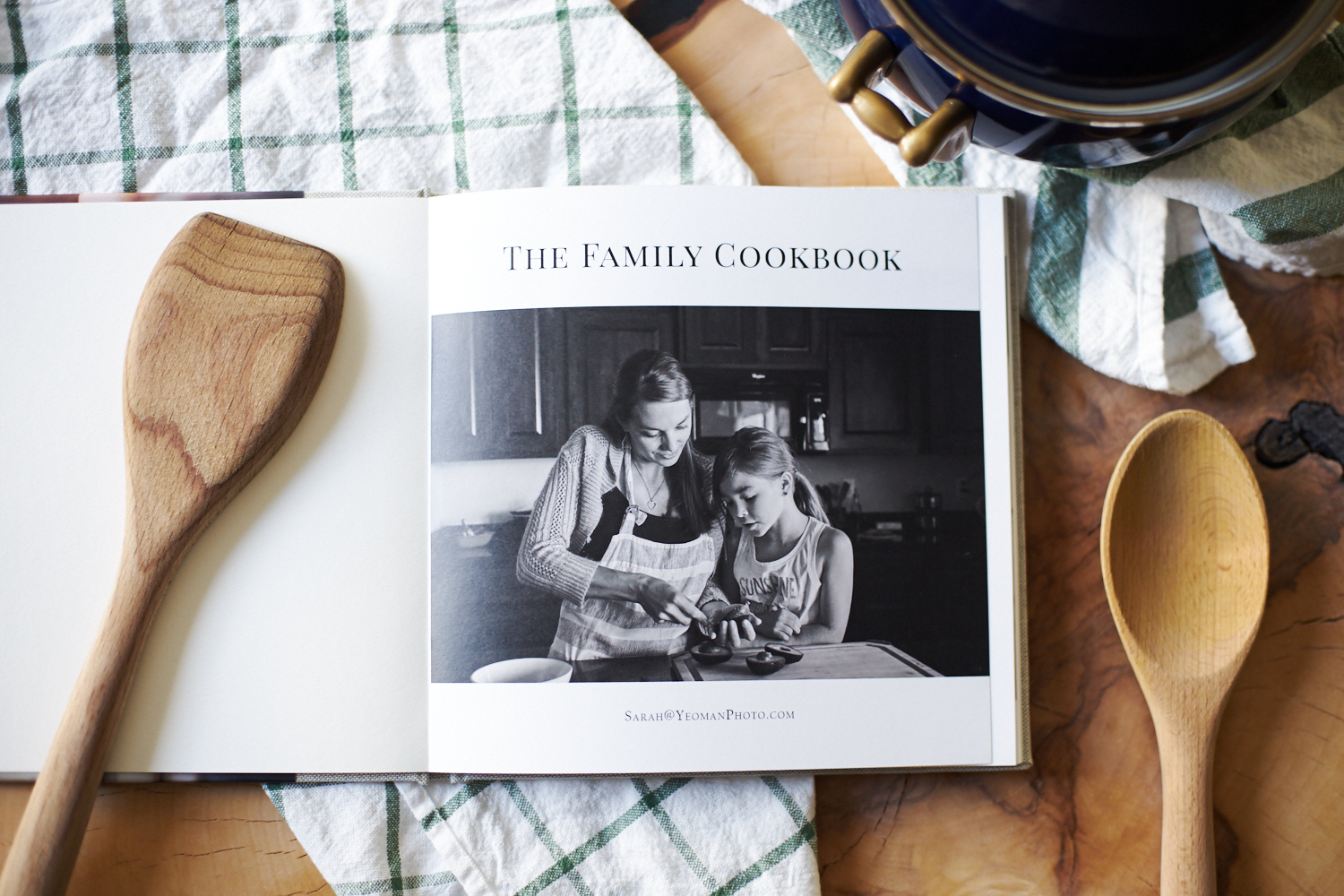 The Family Cookbook Portland Family Photographer
