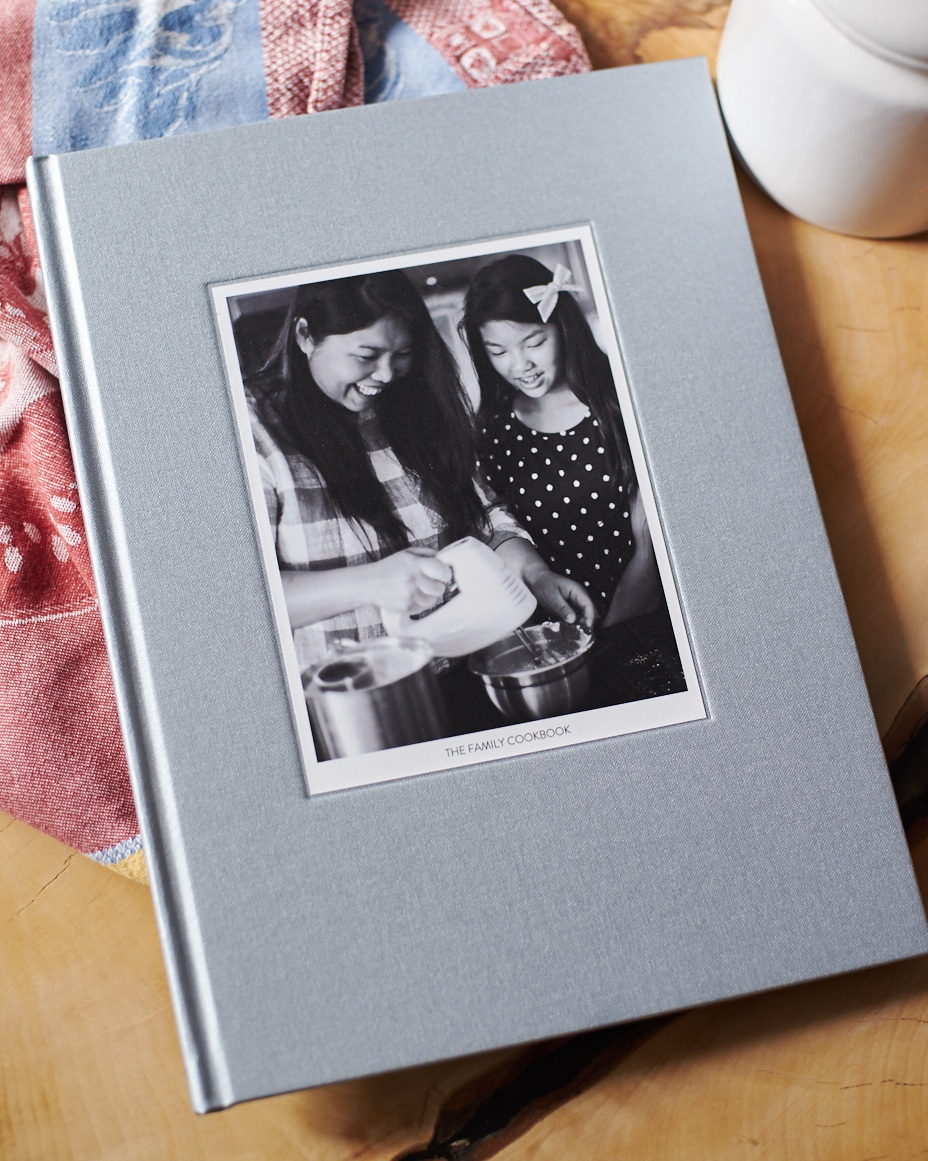 Custom Family Photo Cookbook