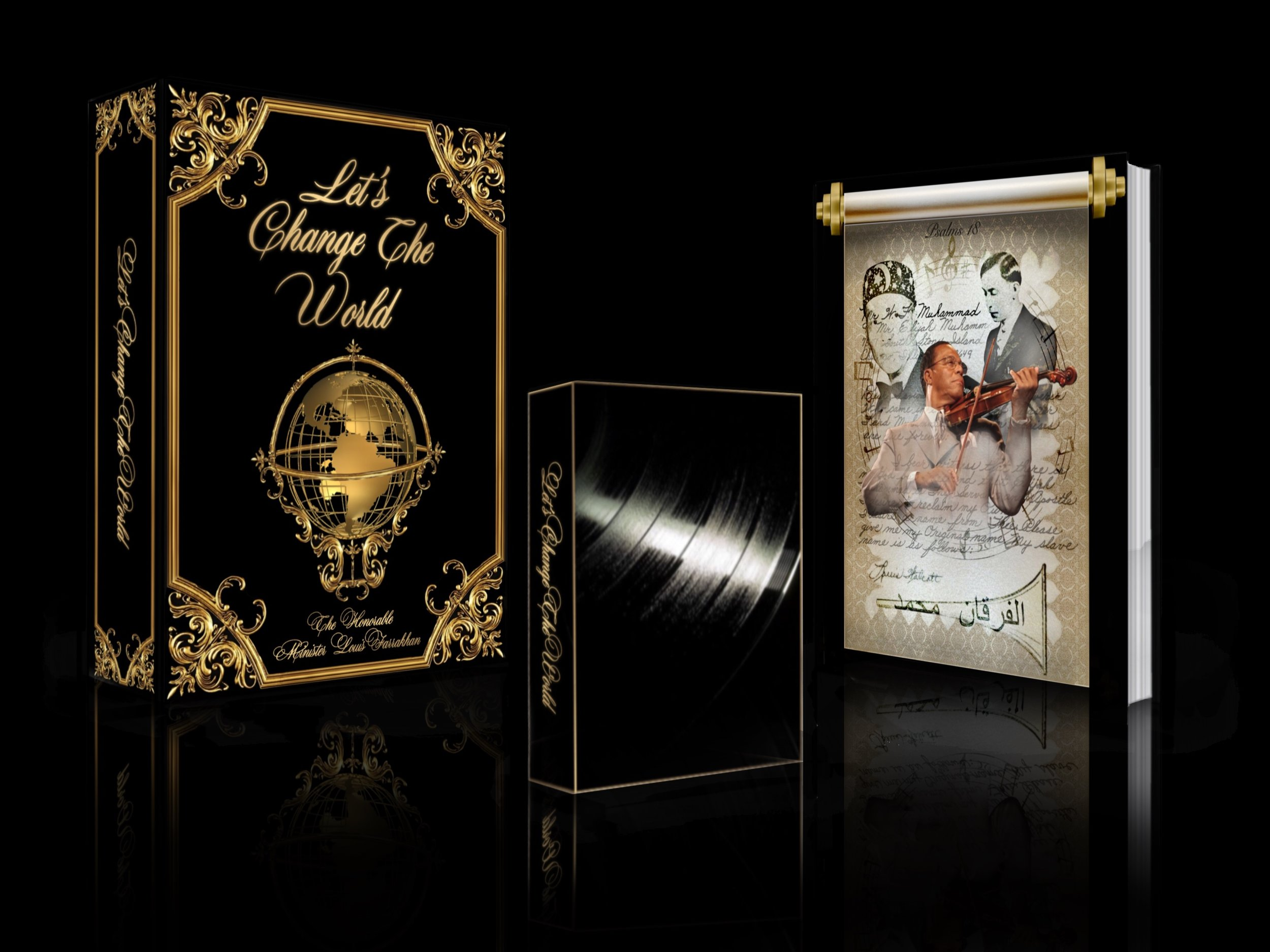The minister's music box-set - Get Your limited edition box-set today!