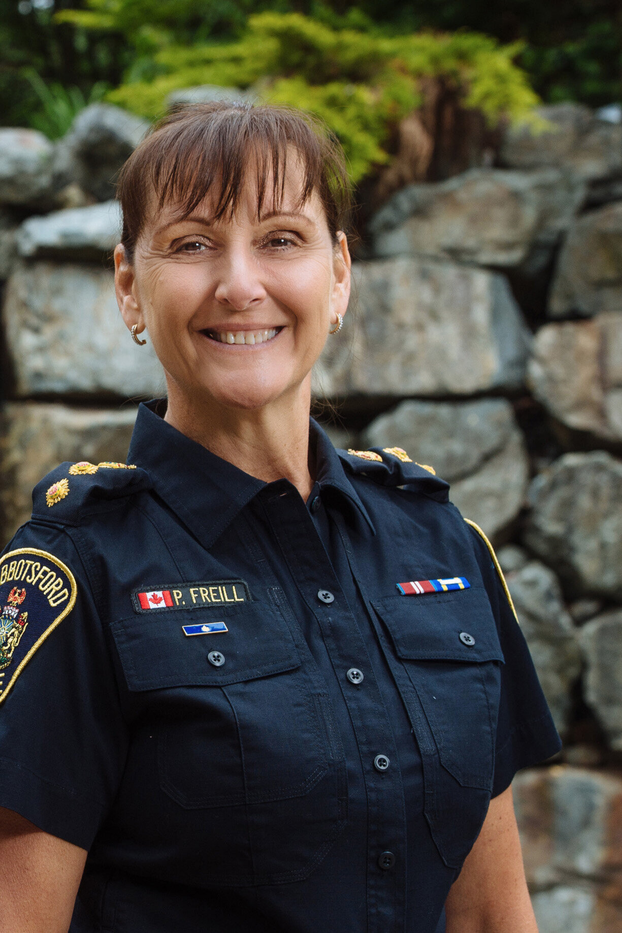 Ethical Leadership - Co-presented by Deputy Chief Constable Paulette Freill (above) and Staff Sergeant Crystal Jack, Abbotsford Police Department