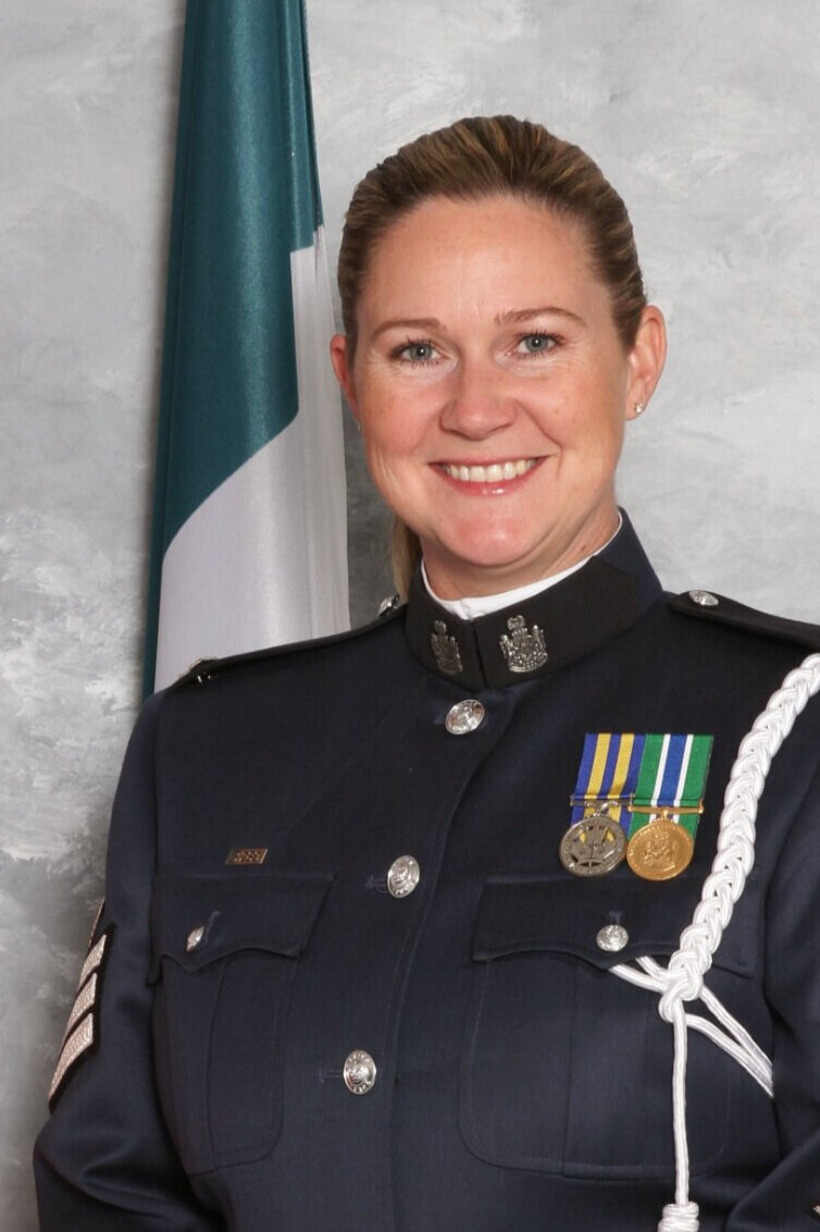 Ethical Leadership - Co-presented by Deputy Chief Constable Paulette Freill and Staff Sergeant Crystal Jack (above), Abbotsford Police Department