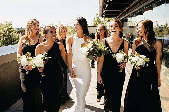Rockstars 💥 who's in your entourage? TAG/SEND the crew 🕺🏻 __  Team: @weddingwise | @olympicrooftoppavilion | @sublimestems | @bridalbeautyagency | @integraldjs