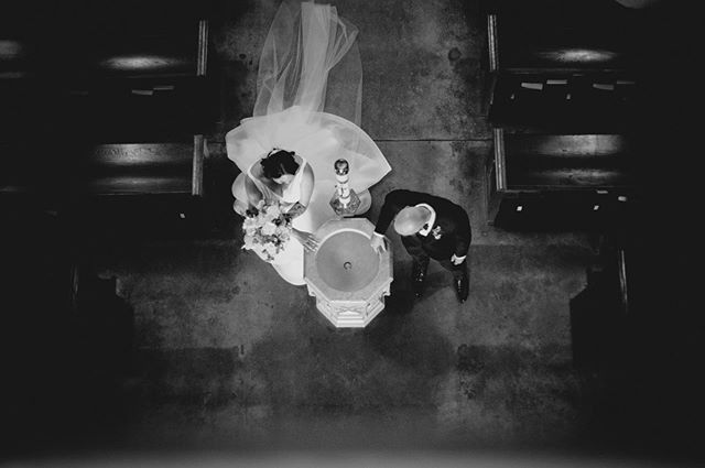 Unique perspectives are my favorite. I can usually find some pretty cool stuff on my own, but it definitely helps to have a second photographer running around just to get all the cool angles! Like this shot from @chanelmarlene at the wedding I shot last weekend. I usually have some basic direction for what I have in mind, but teamwork is key!