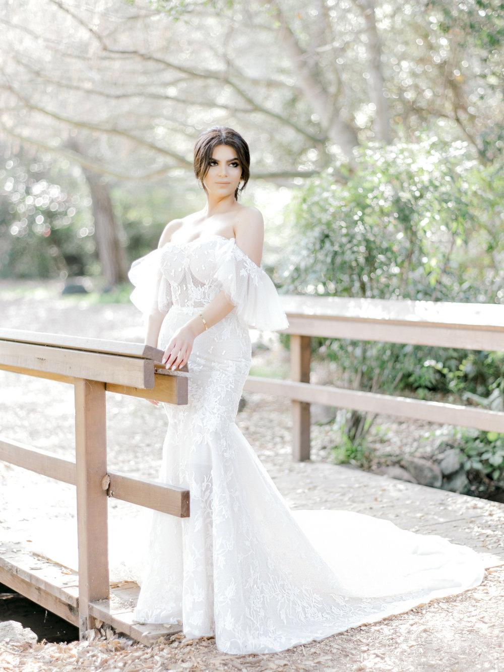Los Angeles Bride in Berta Bridal — Rene Zadori Photography