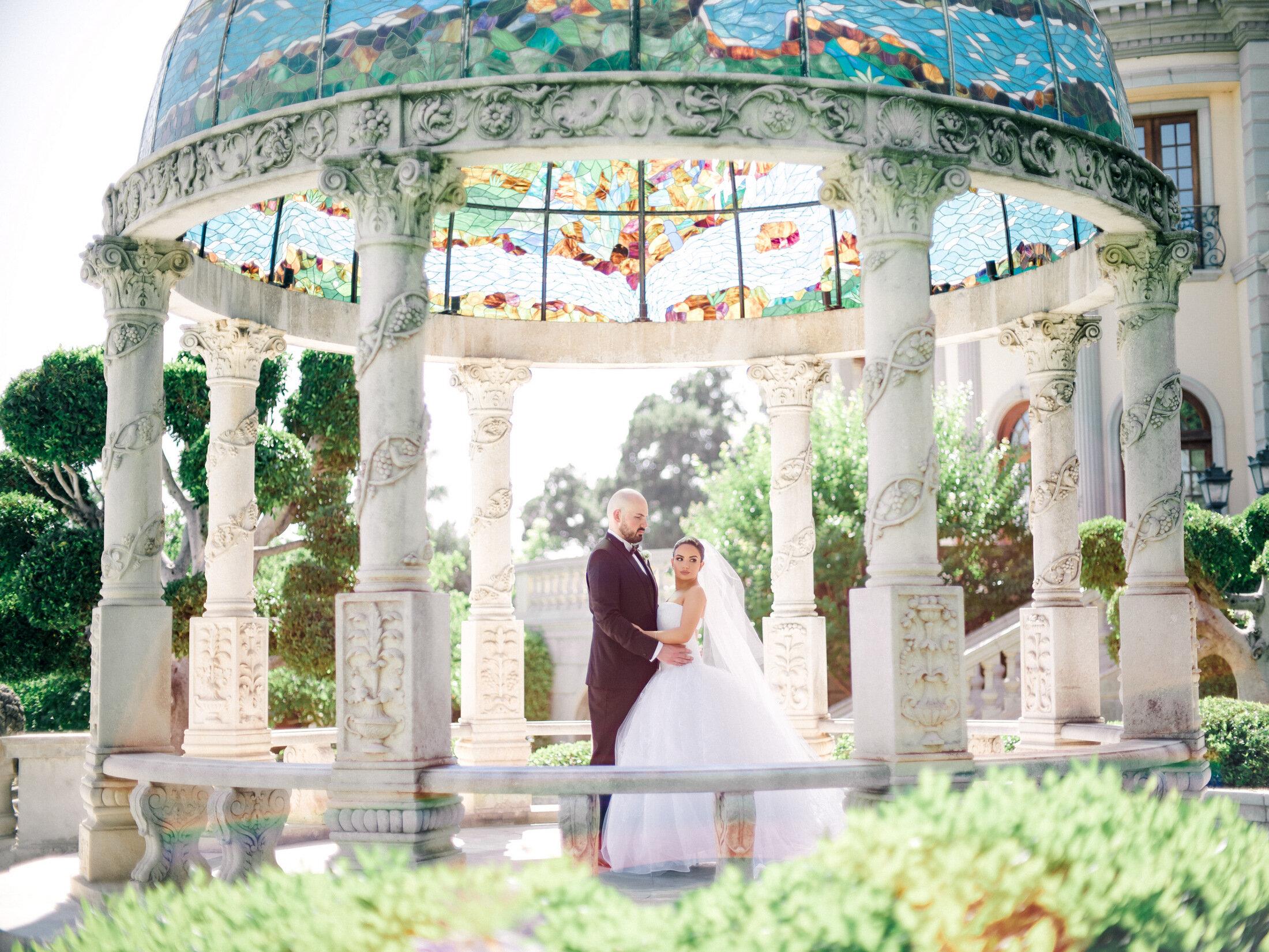los angles luxury wedding vera wang bride in bridal gown wedding reception goals