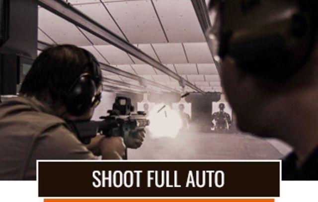 Shoot full auto at Jacks Range! #fullauto #jackspawngun #daltons onlyindoorrange #colt