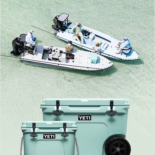 Sea foam is Back at Jacks. Don't forget graduation gifts. #jackspawnandgun #yeti #graduation