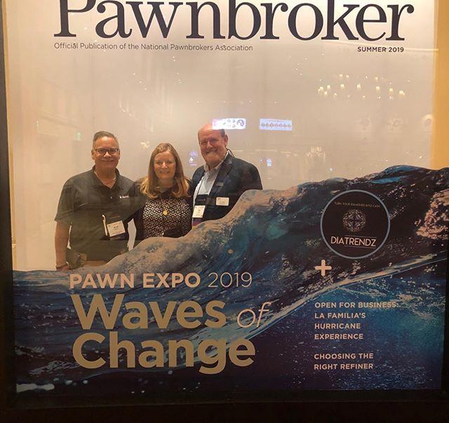 25 Years National Pawnbrokers's Association. Jack's Pawn!  #pawnexpo #jackspawngun #daltonsonlyindoorrange