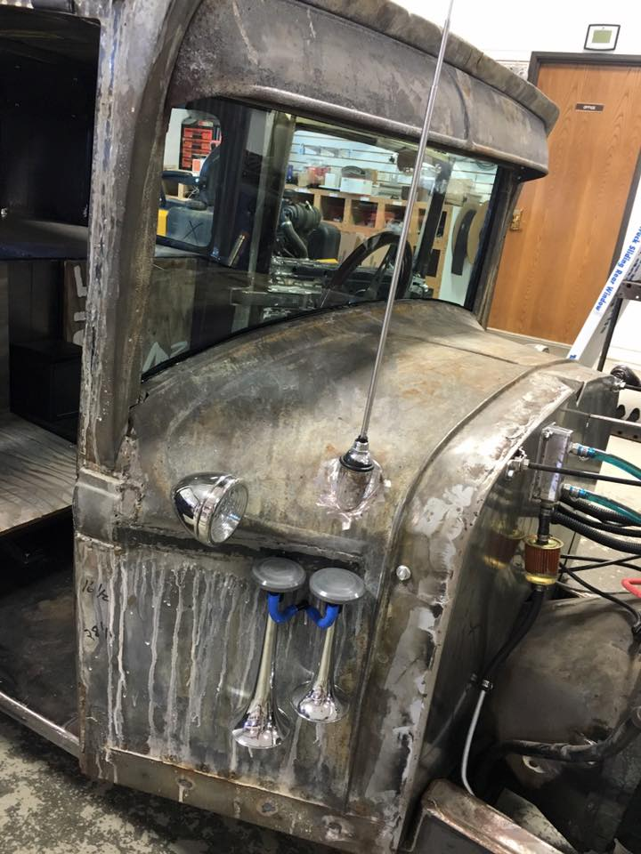 Custom Windshield Rat Rod Hot Rod