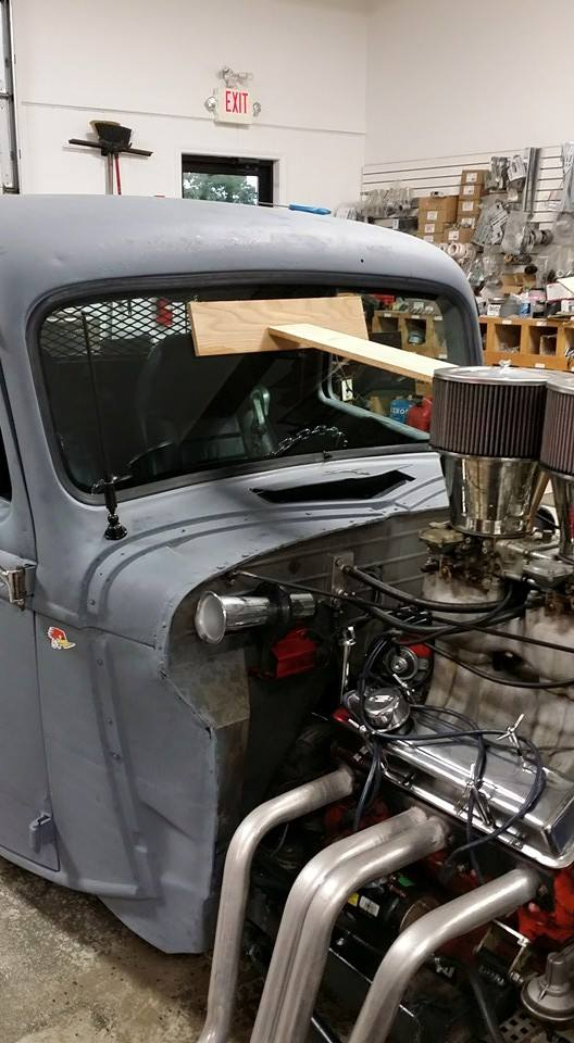 Custom Made Flat Glass Windshield Hot Rod Rat Rod