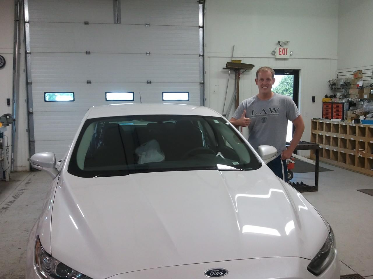 2013 Ford Fusion Windshield Happy Customer
