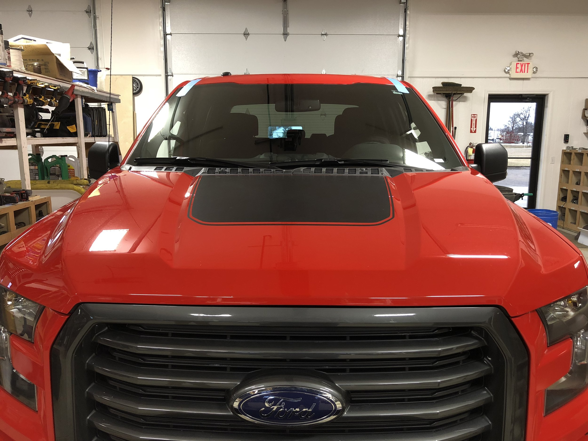 2016 Ford F150 New Windshield