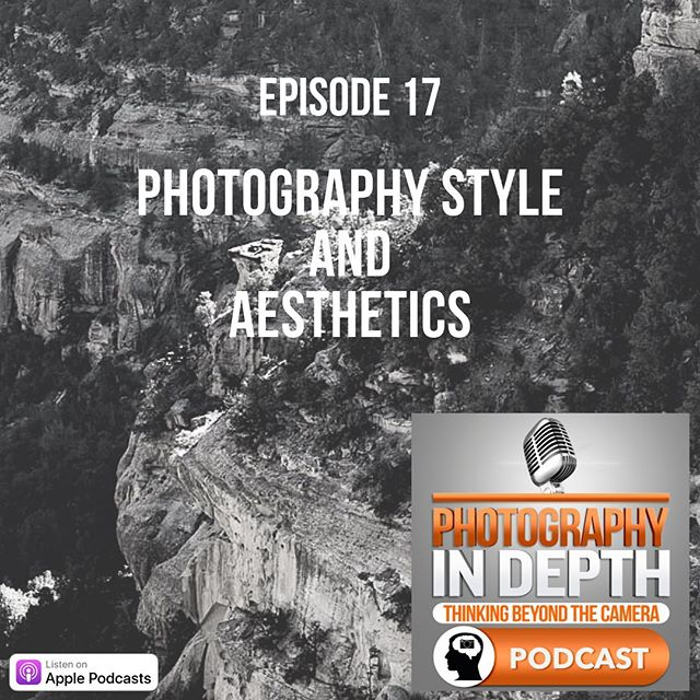 Episode 17, Photography Style and Aesthetics. I'm migrating the podcast to another host so if you see that you're not subscribed- try again. It should be seamless, but...🤔. Thanks for being patient as I'll be uploading older episodes as well. Listen at the link in bio, or on Apple Podcasts.  #photographer #photographypodcast #photography #photographystyle #photographyaesthetic