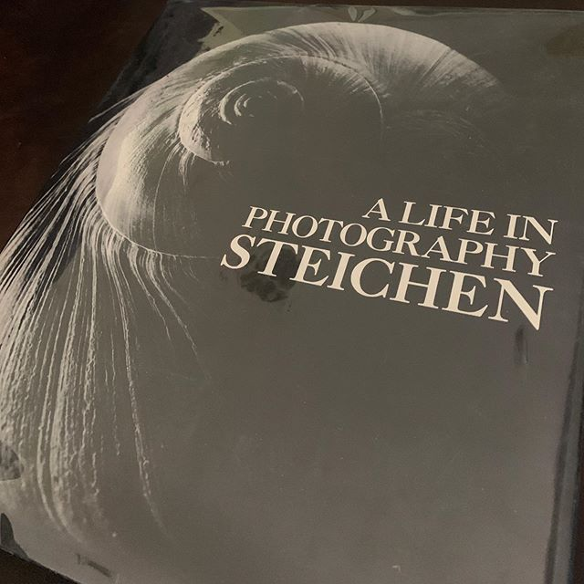 Book score! I'm drawn to the pictorialism style. Steichen was a master. #photography #photographybooks #photographers #bookcollecting