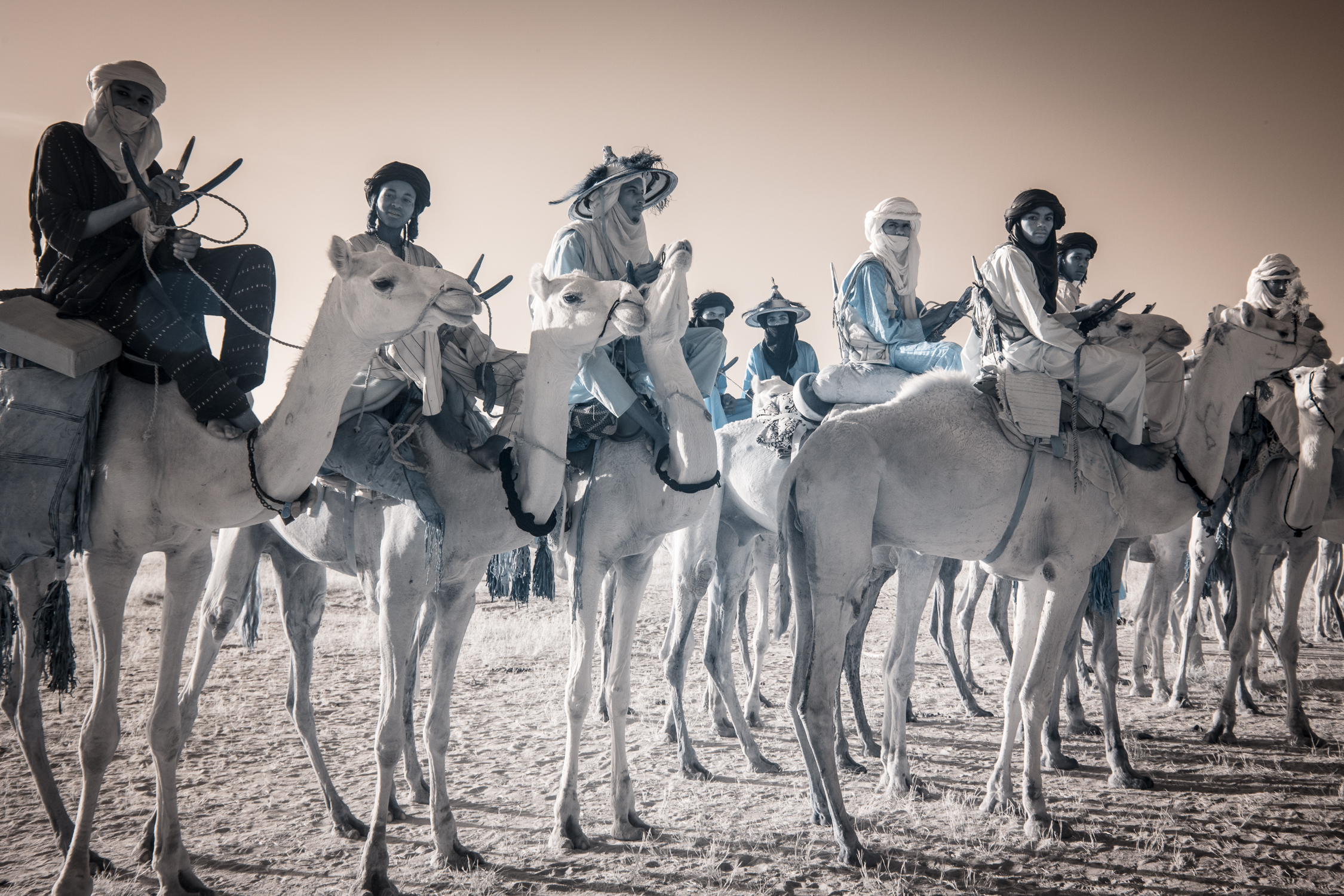 Legendary herders and caravaners of the Sahel desert, the Wodaabe are among the last nomads on earth.