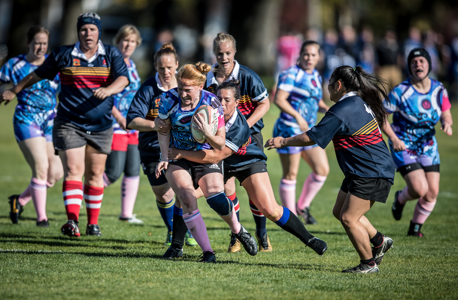 Go Girls! - This isn't just about boys! Girls, get your team together or play in a mixed team. Download brochure.