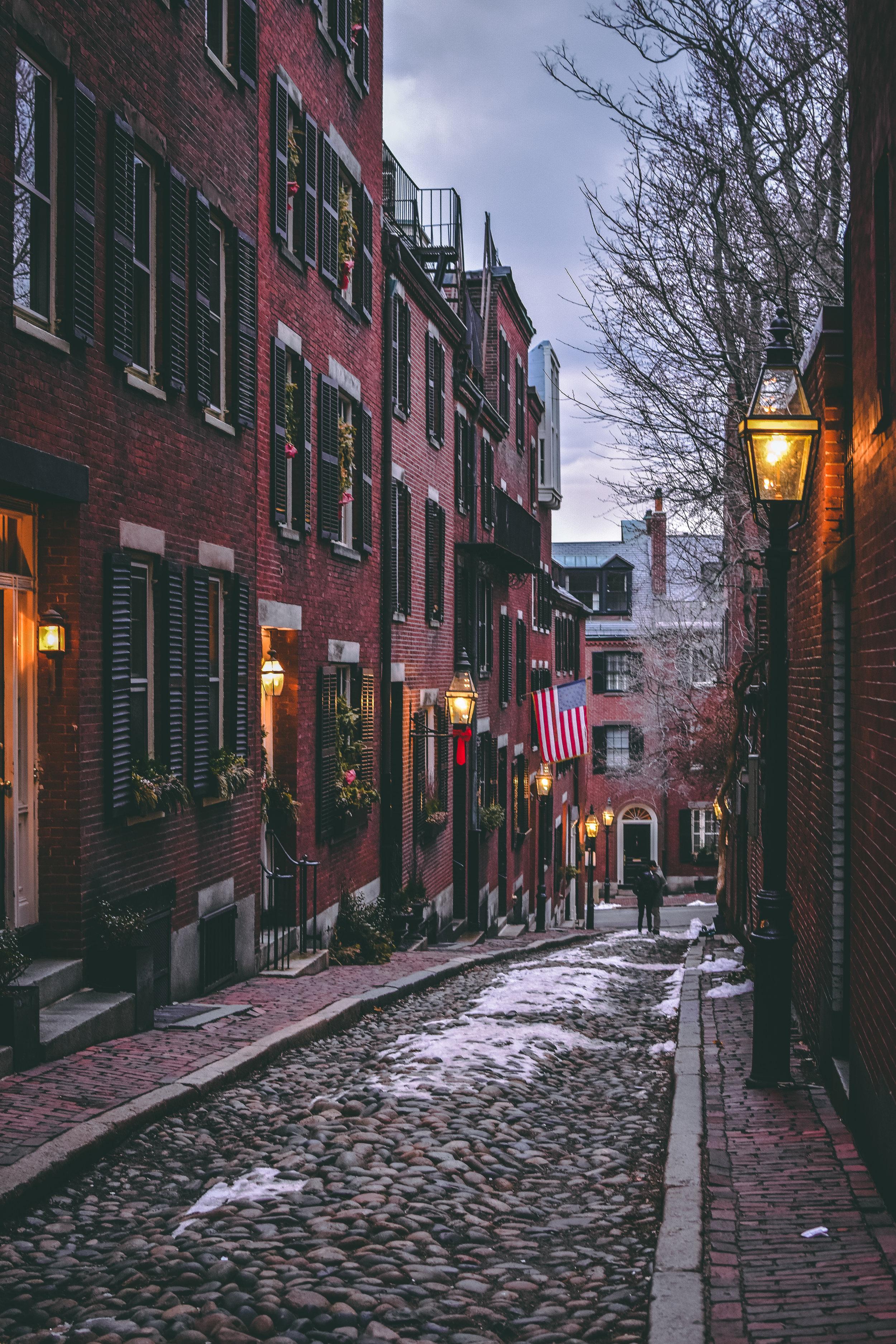 Historic streets, Boston