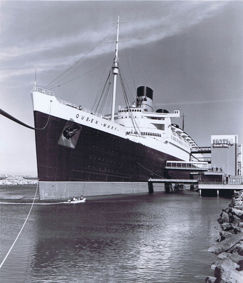 Long Beach - teams stayed on the Queen Mary! (Imagine it)