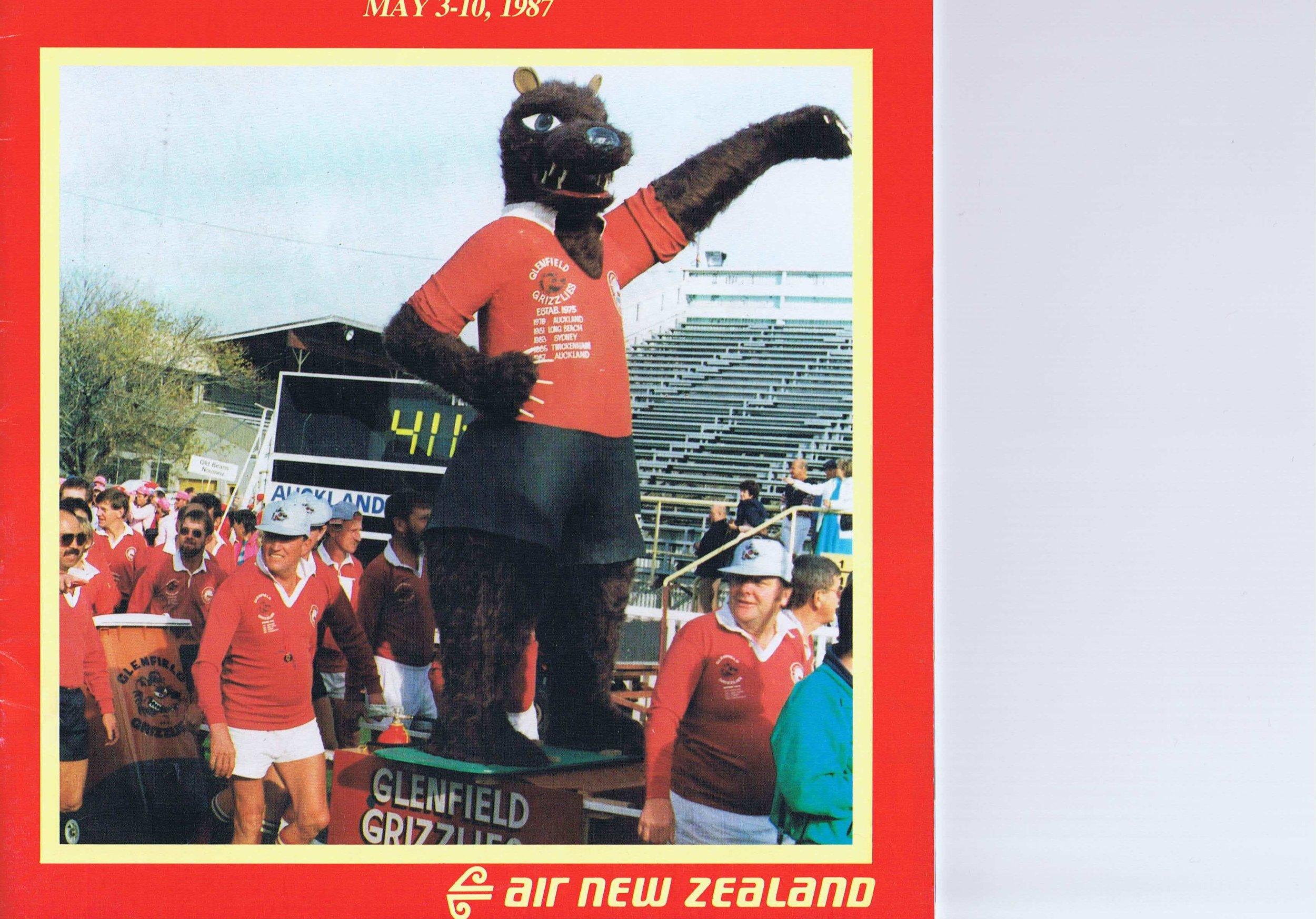Auckland - now that's a mascot