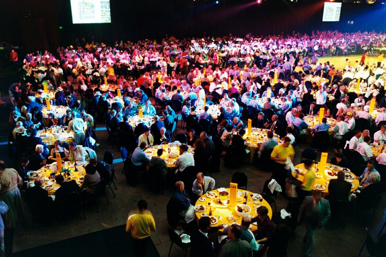 Brisbane - a full house!