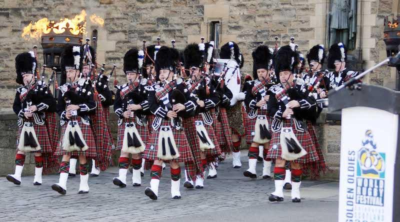 Edinburgh - nothing beats the bagpipes!