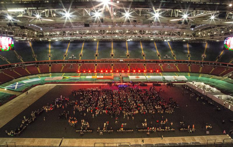 Cardiff - mighty Millennium Stadium