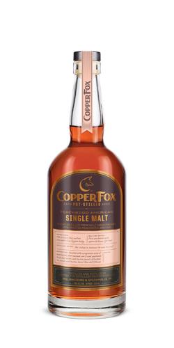 Copper Fox Peachwood American Single Malt