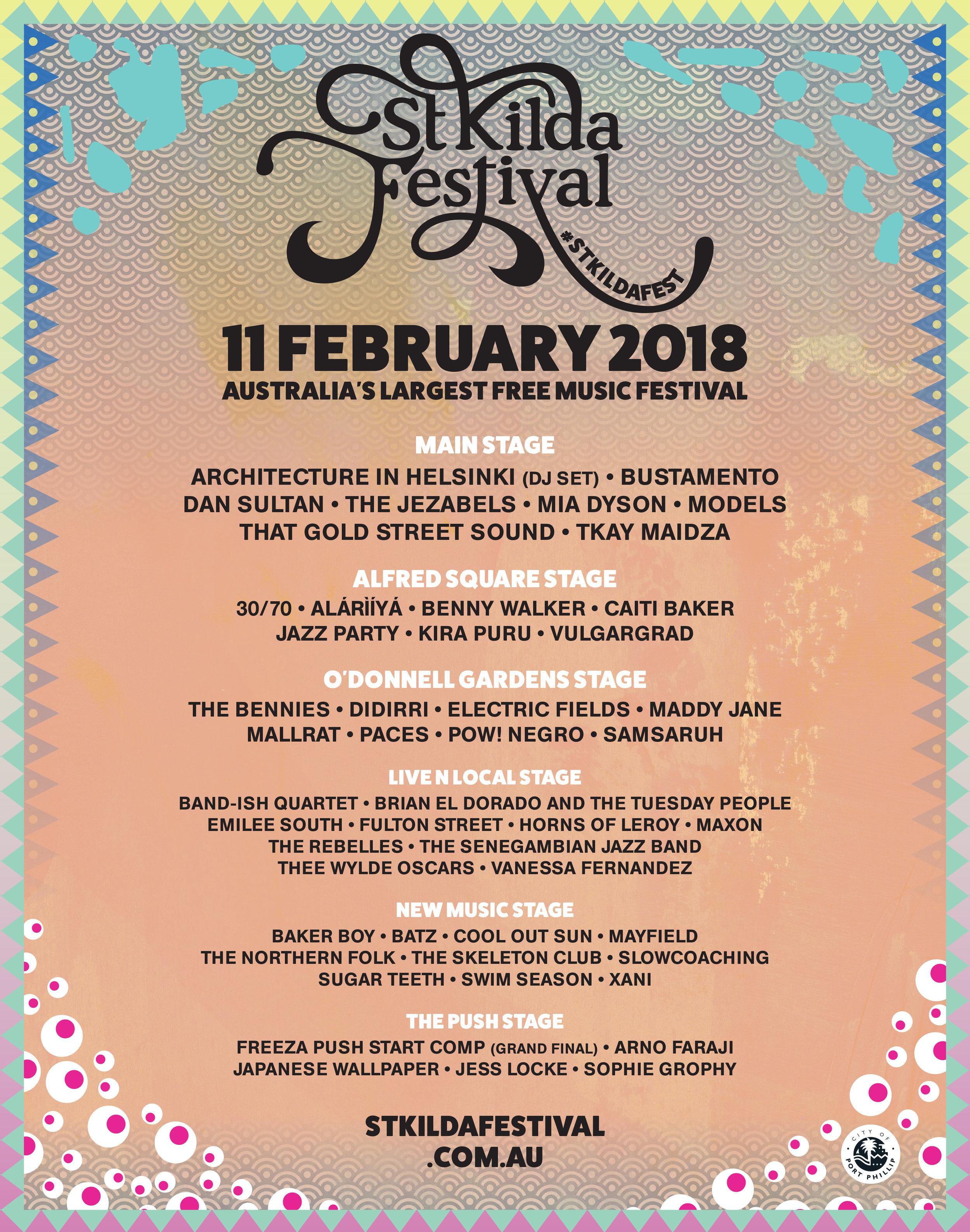 St Kilda Festival 2018 Line-Up Poster.jpg