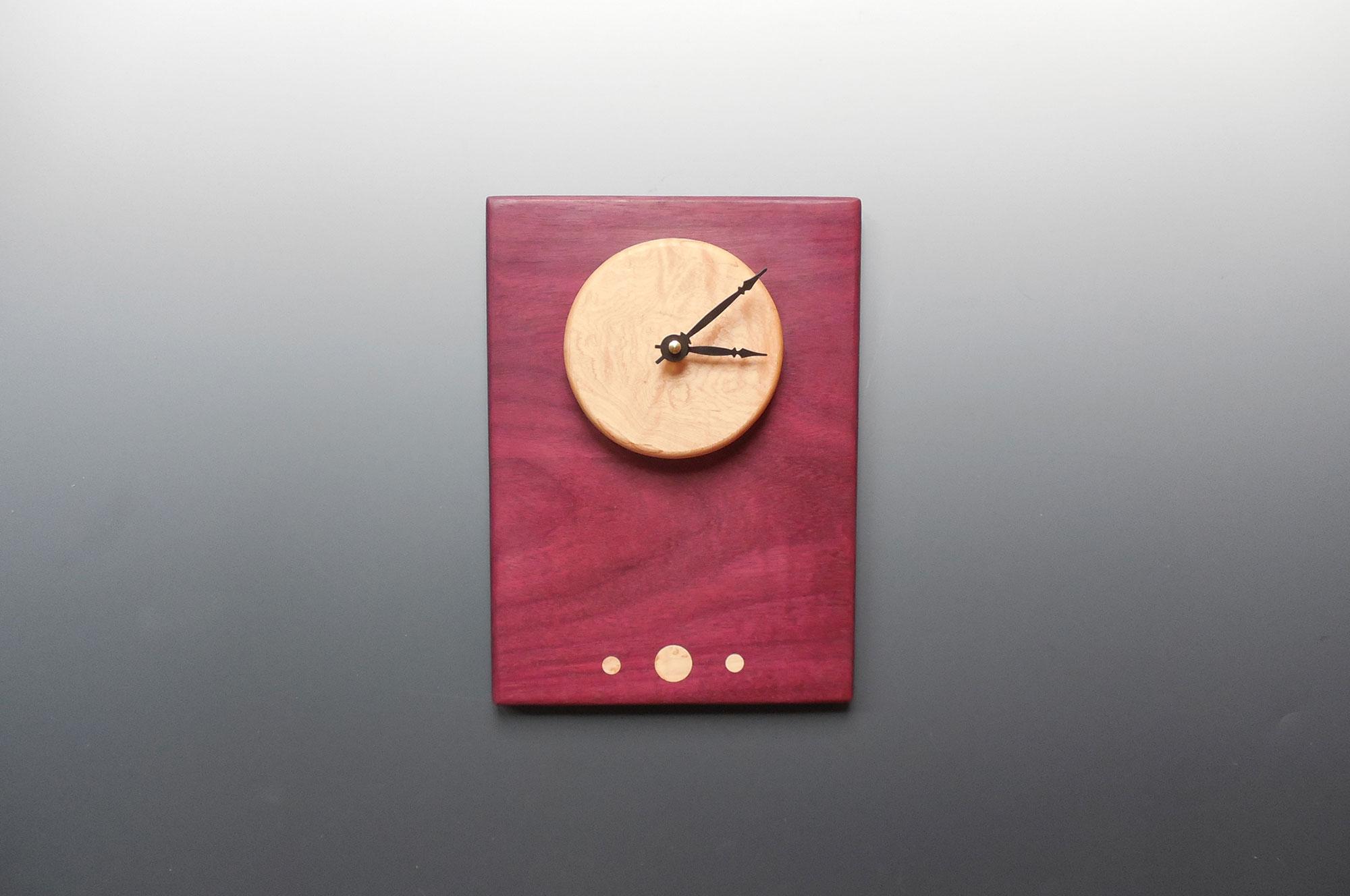 Artist Wood Clock