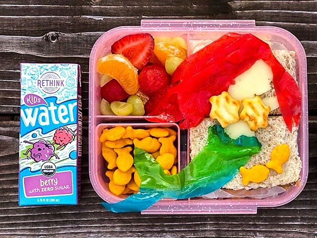 RETHINK is mer-made for your child's lunchbox! 🧜♀️ #Regram