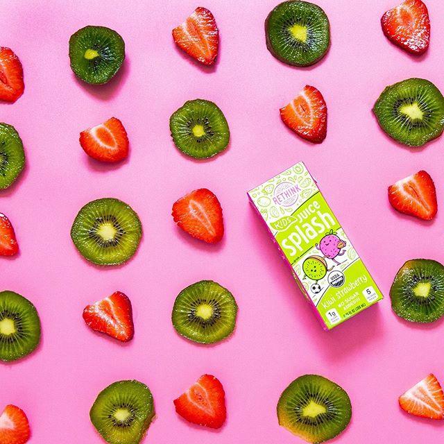 Kiwi + Strawberry = a perfect flavor match! 🥝🍓