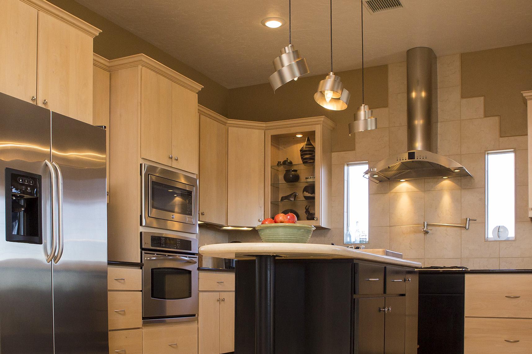 Kitchen, real estate