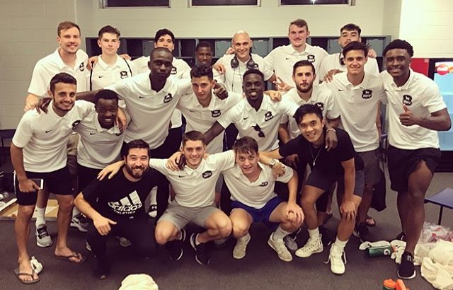 Hard fought victory against @vabeachunited this weekend. Please come support the boys tomorrow night as we take on @ncfusionu23 . . . #path2pro #vabeach #ncfc #win #uslleaguetwo #vamostoros #trfc #bullcitystrong #bullcityfutbol #bullcitysoccer