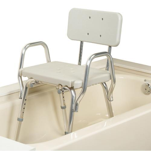 Eagle shower chair with back & arms