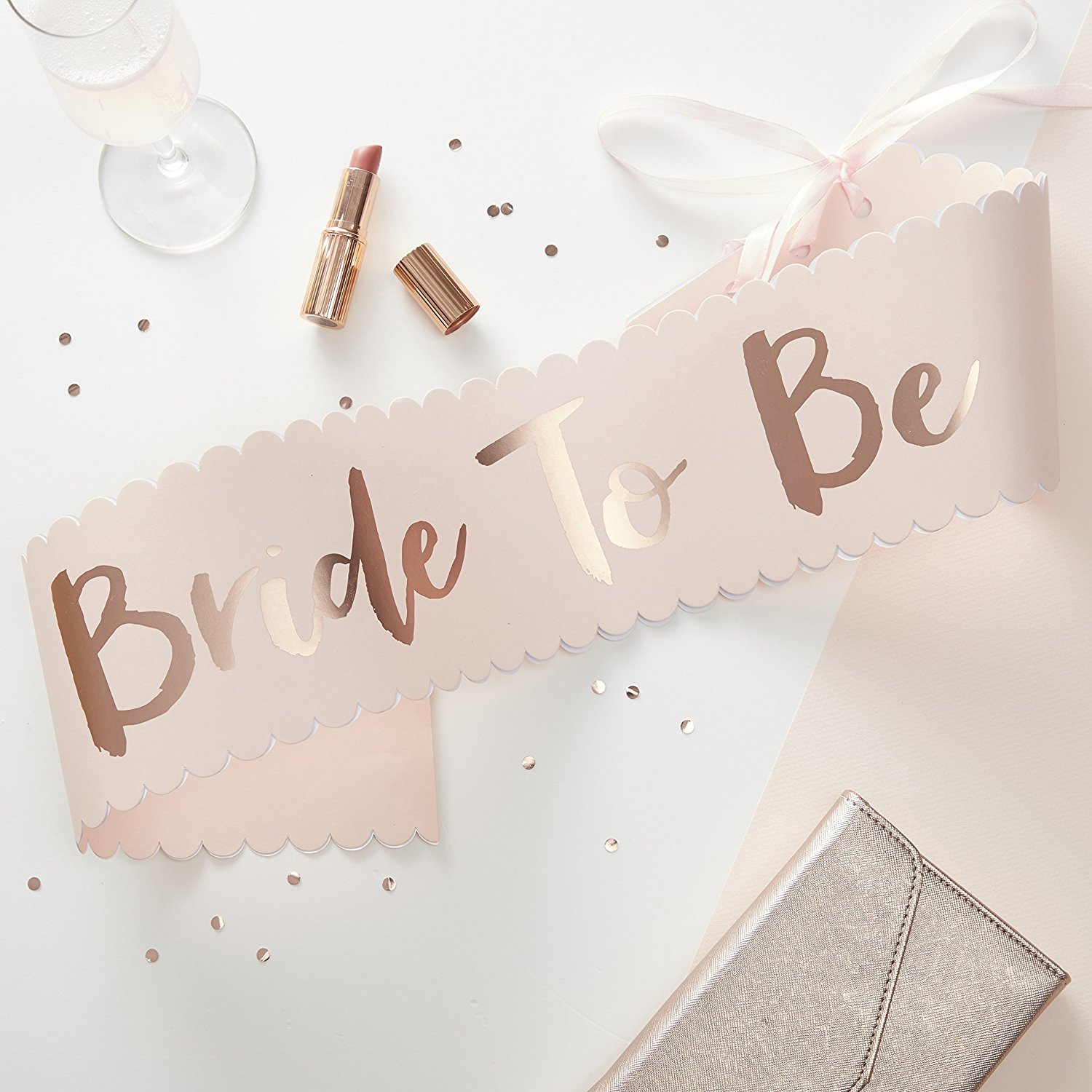 STAND OUT... - BRIDE TO BE SASH