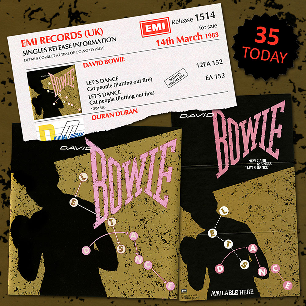 Bowie Said Let S Dance On This Day In 1983 David Bowie