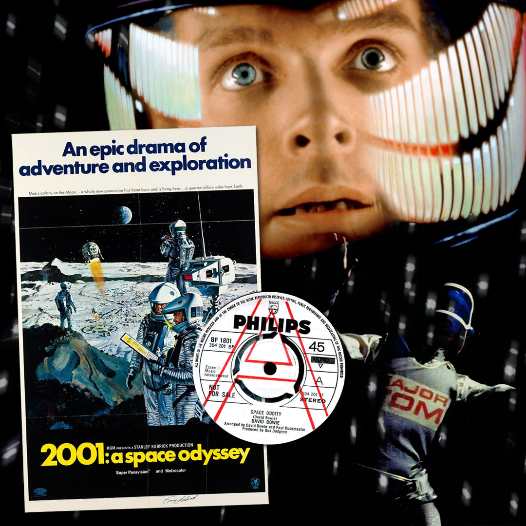 2001: A Space Odyssey is fifty — David Bowie
