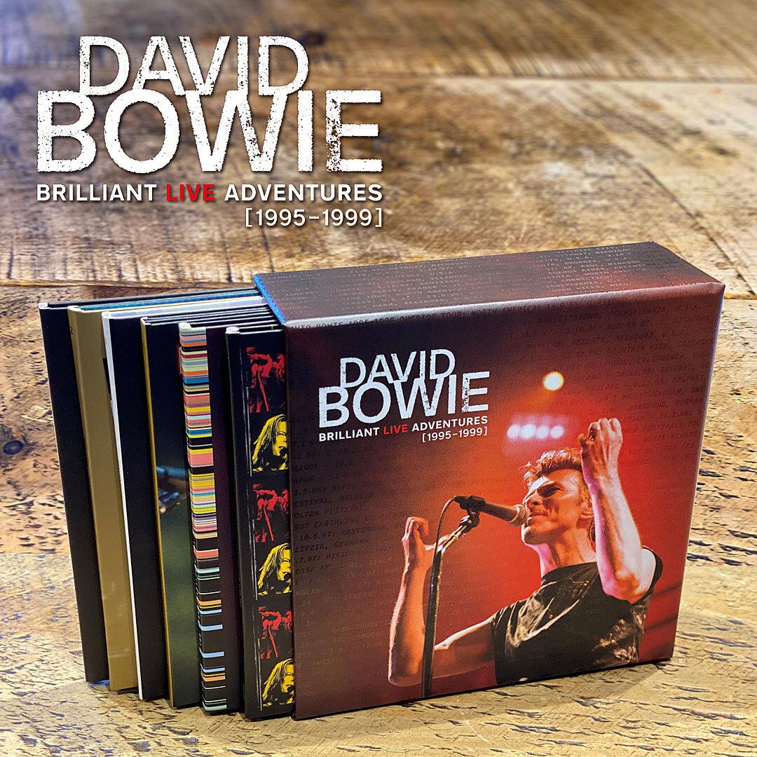 Brilliant Live Adventures update — David Bowie por Warner Music