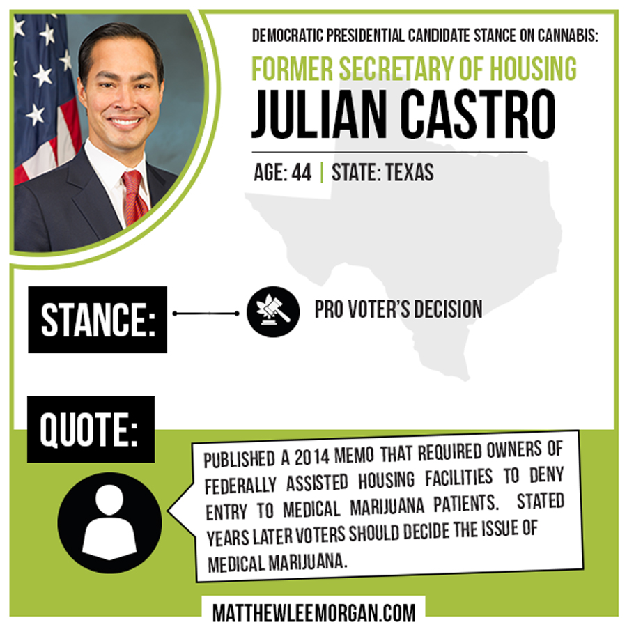 Julian Castro Cannabis Infographic