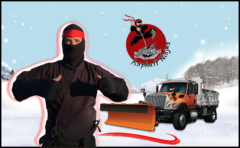 Aspahtl Ninjas repair winter asphalt pavement